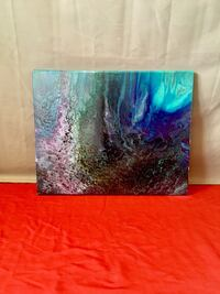 black and blue abstract painting Bristol, 37620