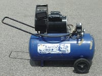 HOME OR WORK PLACE LARGE CAMPBELL HAUSFELD 5HP 13 GALLON AIR COMPRESSOR ON WHEELS! Mississauga