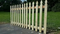 beige wooden fence Catharpin, 20143