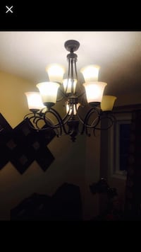 black and white uplight chandelier Mississauga, L5V 2J4