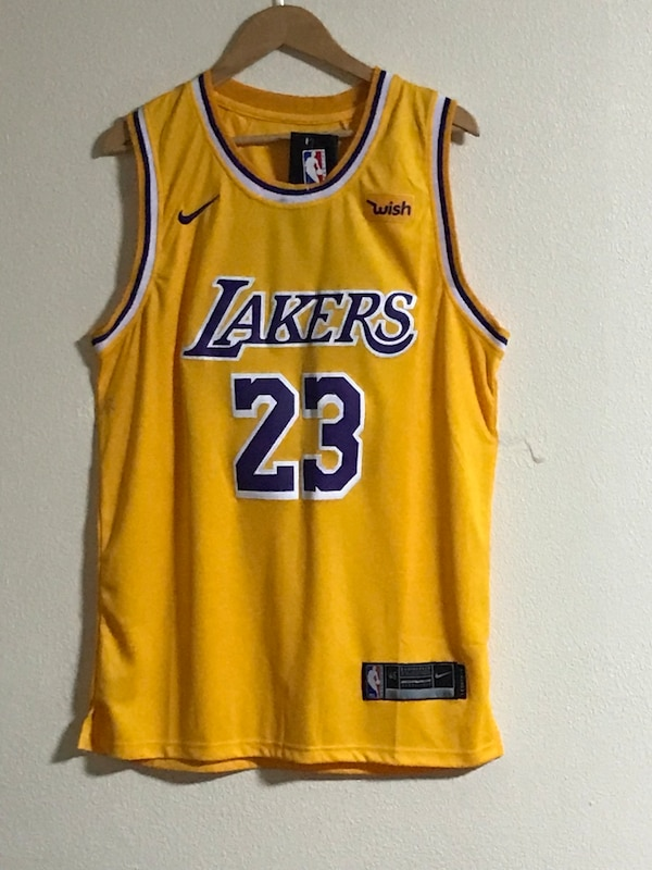 finest selection 3c3f5 8987d Lebron James Lakers jersey NWT S/M/L/XL