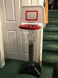 White and red little tikes basketball hoop Mississauga