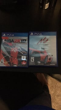 Two sony ps4 game cases Port Coquitlam, V3B 2T9