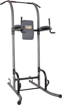 Exercise Tower with pullup bar.
