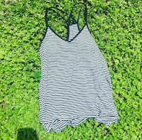 black and white striped camisole Winter Park, 32792