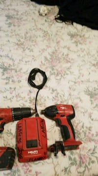 red and black cordless hand drill Riverside, 92501