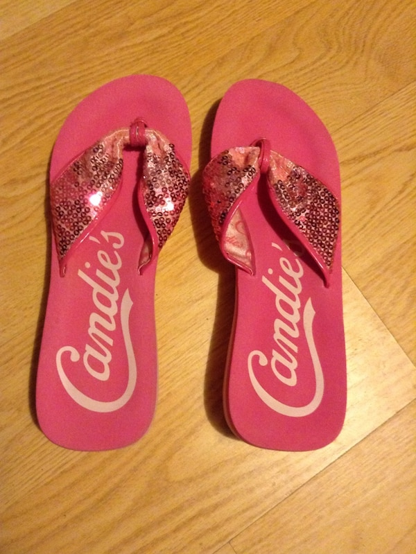 5741c3310c63 Used Woman s Pink Candies Flip Flops for sale in Wayne - letgo