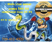 drain cleaning service Denver
