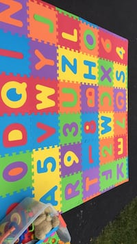 assorted color jigsaw puzzle mat lot