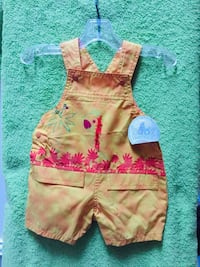Girl outfit size 0/3 months . Woodbridge, 22191