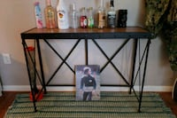 black metal framed glass top table Upper Marlboro, 20774