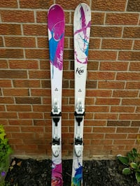 white, blue, and pink snowboard Mississauga, L5M 2P1