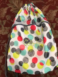 Thirtyone Cinch sack - white with dots brand new Rochester, 55901