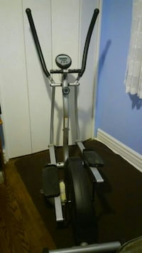 black and gray elliptical trainer Mississauga, L5K 1L5