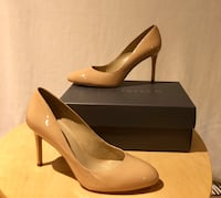 Ann Taylor Taupe Skyler Patent pump size 9, never worn Bryn Athyn, 19006