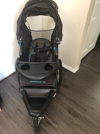 black and gray jogging stroller Arlington, 22204