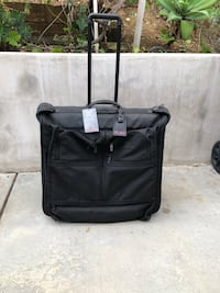 Tumi deluxe garment bag on wheels Los Angeles