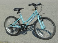 "GIRL'S 20"" CCM SPRINT 6 SPEED MOUNTAIN BIKE ONLY $75.00 FIRM! Mississauga"