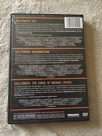 The Halloween collection DVD Little Rock