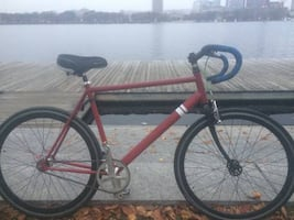 Sole fixie bicycle