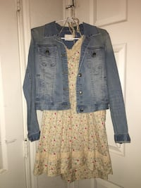 Jessica Simpson Dress and Forever 21 Jacket  Austin, 78702