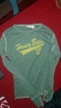 Abercrombie green Honey Bees thermal size small Rogersville, 65742