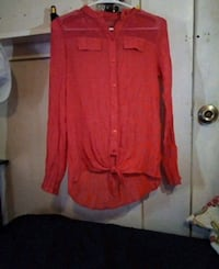 Coral color Blouse  Abilene, 79603