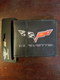 Corvette Leather Wallet$6.00.OBO. New Castle