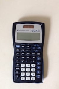 TI-30XS IIS calculator