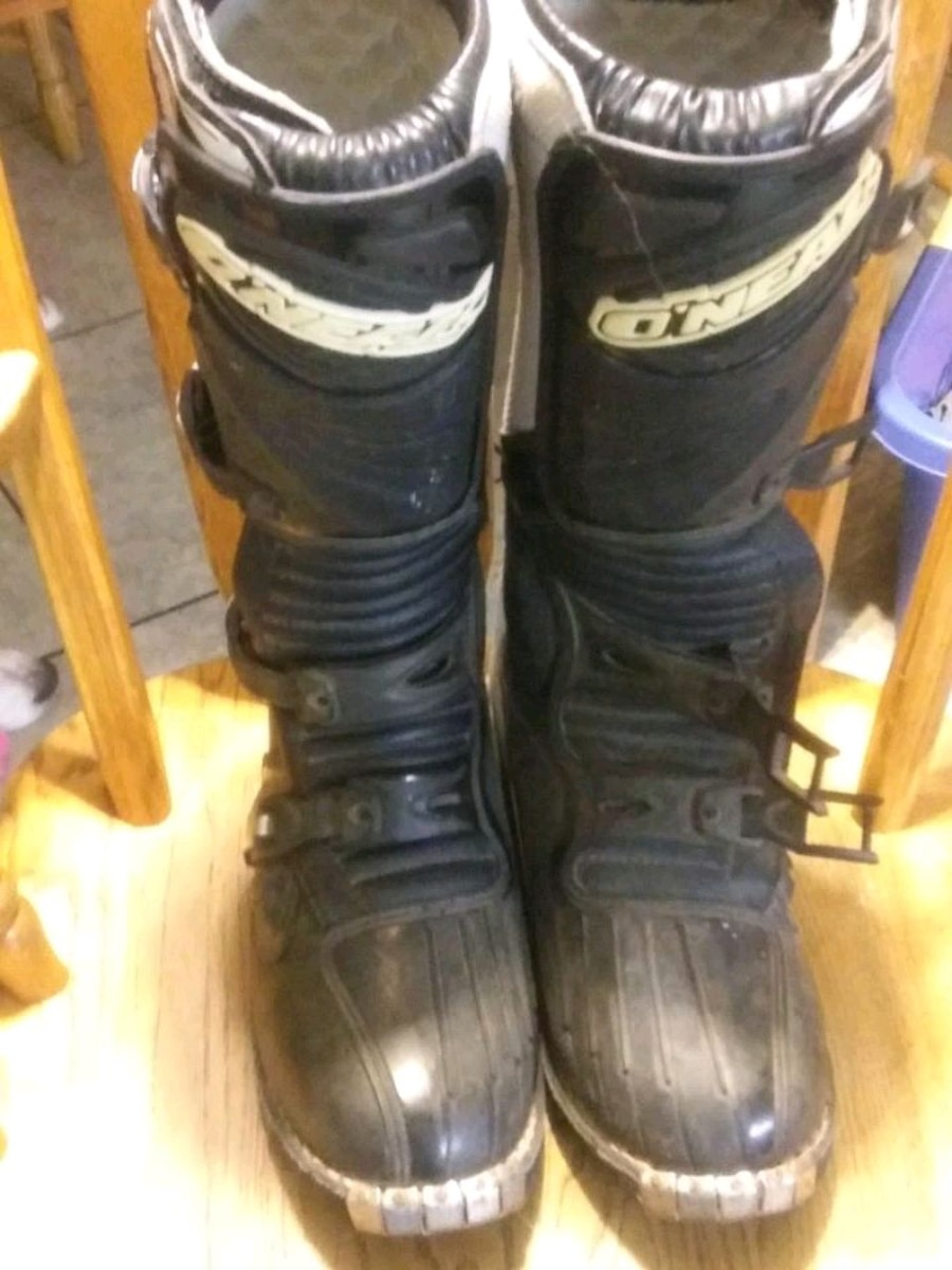Photo Oneal mx boots size 12