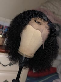 Kinky curly lace front wig  Orlando