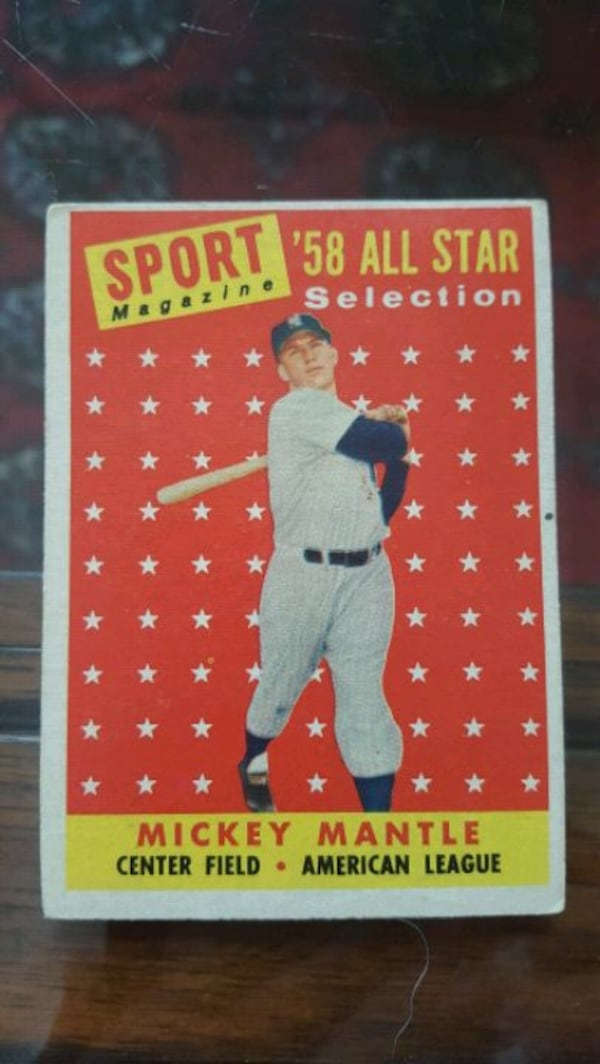 Mickey Mantle Baseball Cards - BEST OFFER GETS THEM. MUST GO. MOVING. 68051901-d289-49c6-ac06-9582c1ccd25a