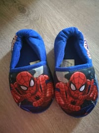 Spider man slippers.