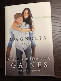 The Magnolia Story book by Chip and Joanna Gaines