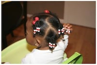 Hair styling (specialty kids) hair braiding Brossard