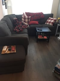 Lazy boy sectional and ottoman Port Moody, V3H 4C5
