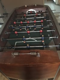 brown and black foosball table Mississauga, L5H 1H1