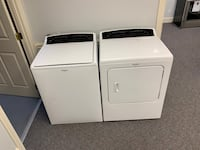Whirlpool Cabrio XL high efficiency washer and dryer set  Charlotte, 28273