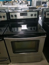 Whirlpool electric glass top Stove 30inches