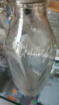 clear glass bottle Spindale, 28160