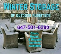 Patio / Outdoor Furniture Upholstery cleaning + Toronto