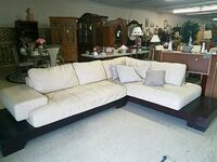 2 piece leather sectional Stephens City