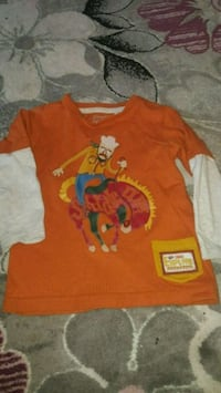 Boys long sleeved cowboy top size 1/1.5 years Fethiye
