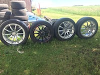 "16"" racing rims $50 each"