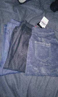3 pairs brand new leggings with tags med