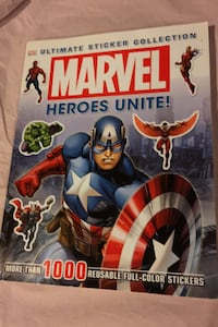Marvel sticket book Brampton, L6S 3B1