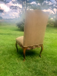 4 high end upholstered dining chairs Highland Heights