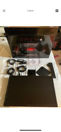 """HP OMEN 25"""" 144hz 1ms Freesync Gaming Monitor Barely Used Derwood, 20855"""