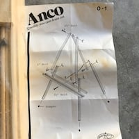 Vintage Anco Bilt wooden painting easel new  Tampa, 33647