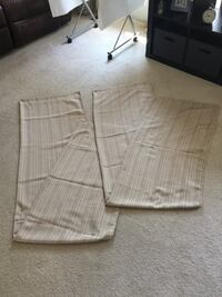 Curtains Brand new 2 panels